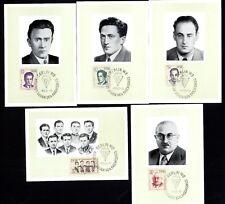 DDR 918/22 Maximumkarten Antifaschisten , KZ-Opfer