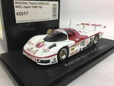 1/43 EBBRO 45017 WACOAL TOYOTA DOME 85C WEC JAPAN 1985 FUJI model car Spark