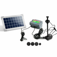 AWPW 330L/H Submersible Fountain Pump with Solar Panel - FOUNTPOND35DX