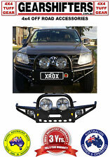 NEW XROX BULL BAR VW AMAROK  2011 - 2017 ADR AND AIR BAG APPROVED 4X4 4WD UTE