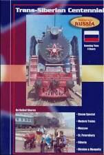 Trans-Siberian Centennial DVD 2 Disc Set DVD NEW Russia Mongolia steam Moscow