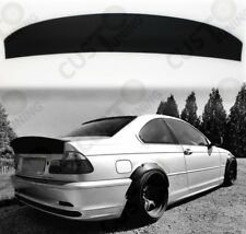 BMW E46 1999-2005 csl style coupe trunk REAR SPOILER- Fiberglass