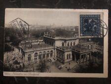1927 Vienna Austria Rppc Postcard Cover To Lorenzo Marques Kursalon At Stadtpark