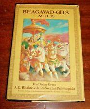1972 Bhagavad-Gita As It Is by Prabhupada by A.C. Bhaktivedanta Swami