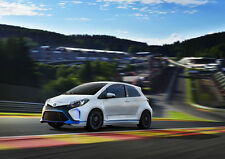 2013 TOYOTA YARIS HYBRID R CONCEPT NEW A2 CANVAS GICLEE ART PRINT POSTER