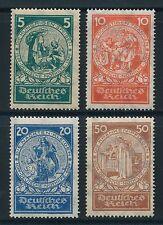 Echte Briefmarken aus dem deutschen Reich (1933-1945) mit Falz