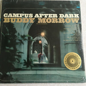 BUDDY MORROW Campus After dark Sealed Lp VINYL RECORD Epic STEREO Jazz music