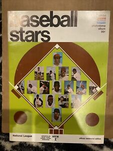 1969 photostamp album magazine baseball, National League no stamps