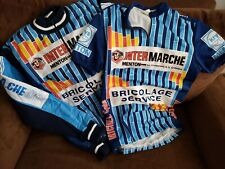 INTER MARCHE MICHEL CYCLES BRICOLAGE SERVICE CYCLING RACE JACKET JERSEY France
