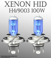 JDM H4 9003/HB2 100/90W x2 pcs Xenon HID White Direct Replace Light Bulbs VI1459