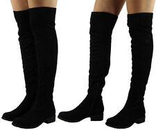 Faux Suede Zip Low Heel (0.5-1.5 in.) Shoes for Women
