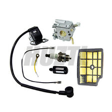 CARBURETOR IGNITION COIL AIR FUEL FILTER FOR STIHL MS200T 020T 11291200653