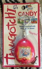 Vintage 1997 Pink Bandai TAMAGOTCHI Candy Pastel Eggs Container SEALED bubble