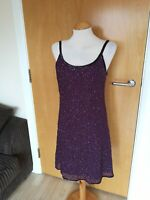 Ladies Dress Size 10 Full Beaded Party Evening Cruise Occasion