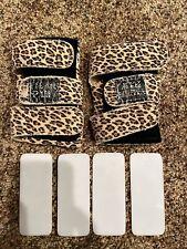 Tiger Paw Gymnastics Wrist Supports Leopard Size Medium with inserts