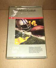 Vintage Touchdown Football Imagic pc game floppy disk w/ Booklet + Case IBM