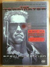 THE TERMINATOR ARNOLD SCHWARZENEGGER REGION 4 AUSTRALIA 2 DISC DVD DAVID CAMERON