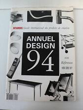 ANNUEL  DESIGN  94  INTRAMUROS  SALON DU MEUBLE   TABLES-LUMINAIRES  34X24 cm