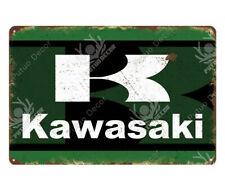 Motorcycle Brand Sign Advertising Plaque Tin Sign for Man Cave, Workshop, Garage