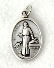 ST LUKE Catholic Saint Medal patron artists bachelors doctors notaries sculptors