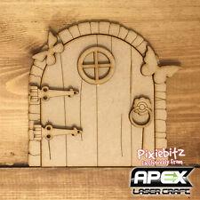 3D Stone Frame Fairy Door Kit - Laser Cut  MDF ready to decorate - FY-DOOR-001