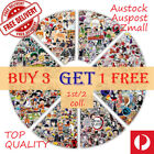 500 (1st Collection of 2) Various Anime/ Kids Cartoon/TV/ Game/ Ins Stickers Car <br/> Top Quality/ Vinyl/Water-resistant/ Removable/ Reusable
