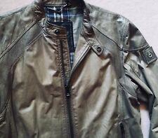 1495€ Belstaff Lederjacke Lenham Beckham Gangster Jacket Leather 56 XXL 54 XL