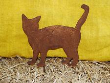 "Katze ""Principessa"" Kätzchen Edelrost Metall Gartenstecker Gartendeko Naturrost"