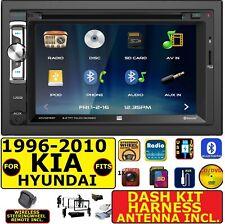 FITS 1996-2010 KIA & HYUNDAI AM/FM CD/DVD BLUETOOTH USB AUX CAR RADIO STEREO PKG