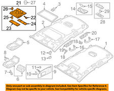 VW VOLKSWAGEN OEM 12-18 Passat ROOF-Front Lamp Assembly 1K0947105P95T