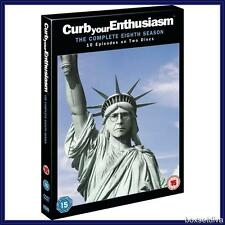 CURB YOUR ENTHUSIASM SEASON 8 - COMPLETE HBO SEASON 8 *BRAND NEW DVD **