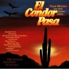 ANTHONY VENTURA - EL CONDOR PASA CD INSTRUMENTAL NEW+