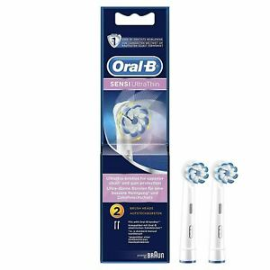 Oral-B Sensi Clean Ultrathin Electric Toothbrush Heads Replacement Refill 2 Pack