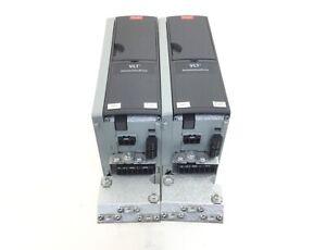 2x Danfoss FC-302PK75T5E20H1XXXXXXS... Frequenzumrichter Output 3x0-Vin 0-1000Hz