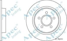 1x OE Quality Replacement Rear Axle Apec Solid Brake Disc 5 Stud 280mm - Pair