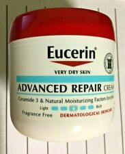 Eucerin Advanced Repair Creme 16 oz - Fragrance Free, Very Dry Skin