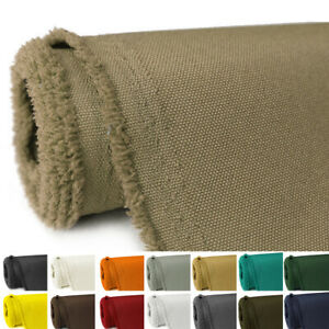 "1-30 Yards Waterproof Canvas Fabric 600D Marine Awning UV Heat Reduce 58"" Wide"