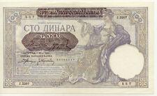 Billet banque SERBIE SERBIA YOUGOSLAVIE YUGOSLAVIA 100 DINARA 1941 UNC NEUF 557