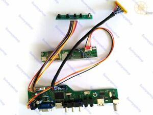 HDMI+AV+VGA LCD Controller Driver Board Monitor converter Kit for LTL101AL01-803