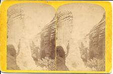 Hillers Stereoview- Views on Brush Creek Utah-Lateral Canyon – Powell Exped 1871