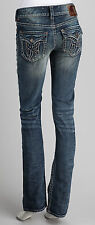 1921 Handcrafted Lt Wash Boot Cut Cotton Blend Jeans Pocket Logo size 24-CL0351