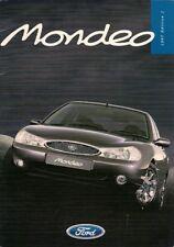 Ford Mondeo 1996-97 UK Market Sales Brochure ST24 Ghia X Si GLX LX Aspen