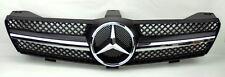 Mercedes CLS Class W219 05-08 1 Fin SLS Front Hood Sport Black Chrome Grill