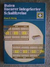 Daten linearer integrierter Schaltkreise - DDR Buch Verstärker Dekoder NF HF FM