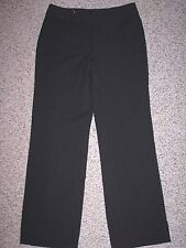 NINE WEST WOMEN'S STRETCH BLACK DRESS PANTS SIZE 8 INSEAM 31