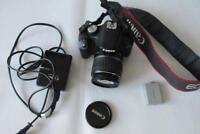 Canon EOS 500D 15.1MP Digital-SLR DSLR Camera (Camcorder) with EF-S 18-55mm Lens