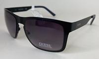 Guess GF0197 02B 55-18 140 Mens Black Frame & Lens Designer Sunglasses New