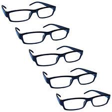 Value Multi 5 Packs Reading Glasses Mens Womens Lightweight UV Reader RRRRR32