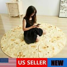 150CM Tortilla Burrito Blanket Corn Flour Tortilla Throw Blanket Random 1PC Y2US