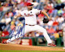 Signed 8x10 Sean O'Sullivan Philadelphia Phillies Autographed photo - Coa